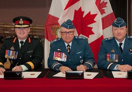 بیانیه فرمانده نظامی کانادا