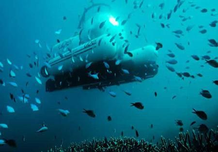 اوبر زیر آب در استرالیا