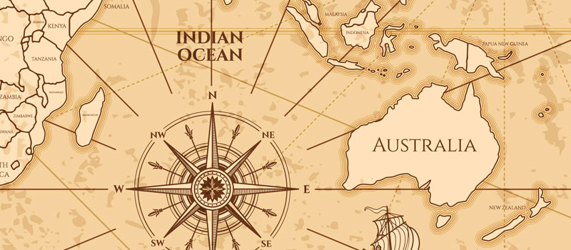 موقعیت جغرافیایی استرالیا
