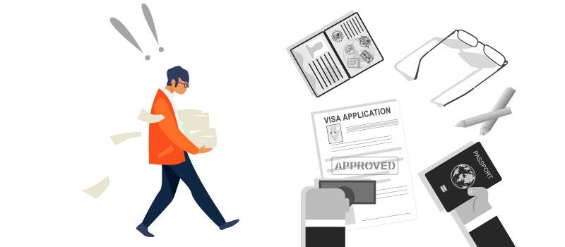 کامل بودن مدارک لازم برای ویزای توریستی کانادا شانس پذیرفته شدن درخواست تان در سفارت را بالا می برد