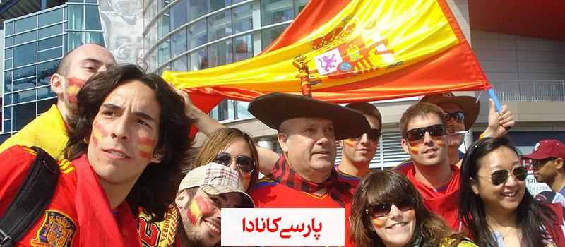 رسوم مردمان اسپانیا