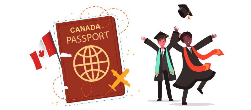 اخذ اقامت دائم کانادا بعد از فارغ التحصیلی