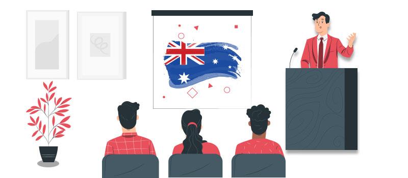برای شرکت در یک کنفرانس در استرالیا باید ویزای توریستی استرالیا را دریافت کنید