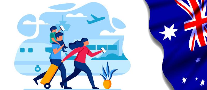 با اخذ ویزای 190 استرالیا خانواده تان را هم همراه خود ببرید